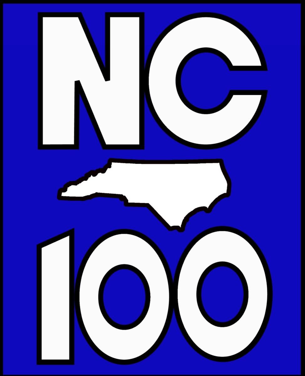small NC 100 logo